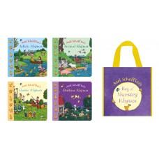 Axel Scheffler's Bag of Nursery Rhymes Collection  (4 Books)