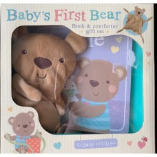 Baby's First  Bear (Book and comforter gift set)