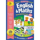 Leap Ahead Bumper Workbook: English and Maths 3+