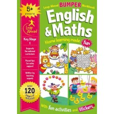 Leap Ahead Bumper Workbook: English and Maths 5+