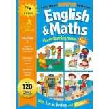 Leap Ahead Bumper Workbook: English and Maths 7+