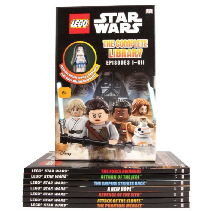 Book In English Lego Star Wars The Complete Library Episodes 1 Vii And Exclusive Figure By Author Lukasfilm Ltd Buy In Ukraine And In Kiev Price 1380 Uah