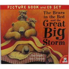 The Bears in the Bed and the Great Big Storm (Book and CD)