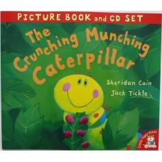 The Crunching Munching Caterpillar (Book and CD)