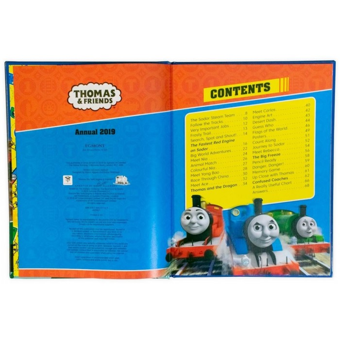 Book in English Thomas & Friends: Annual 2019 by Author