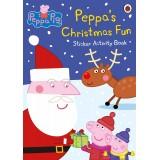 Peppa Pig: Peppa's Christmas Fun Sticker Activity Book