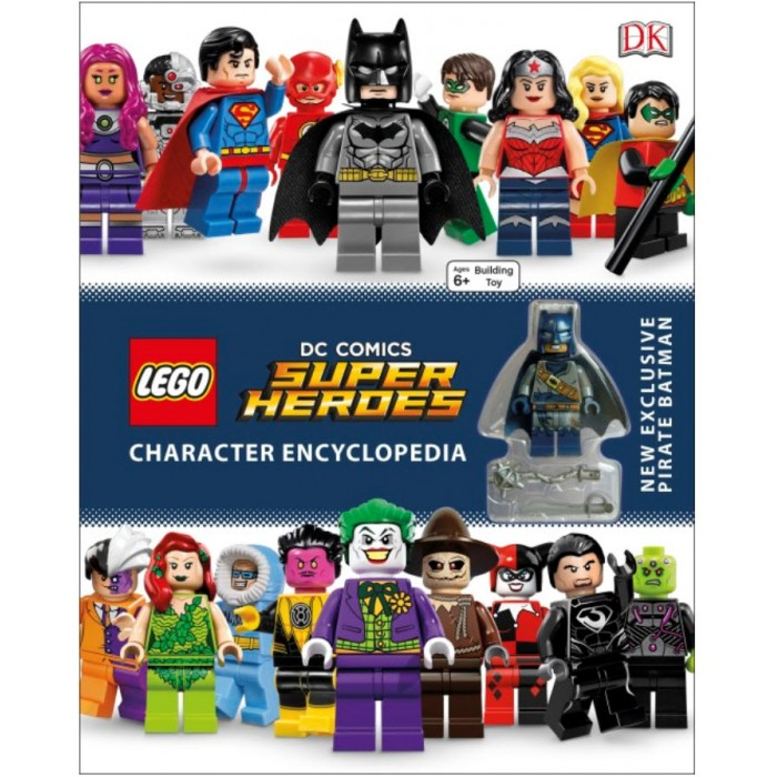 Book In English Lego Dc Super Heroes Character Encyclopedia With