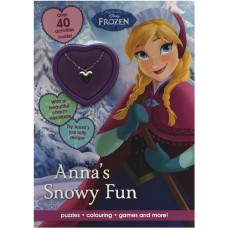 Disney Frozen Anna's Snowy Fun: Puzzles, Colouring, Games and More!