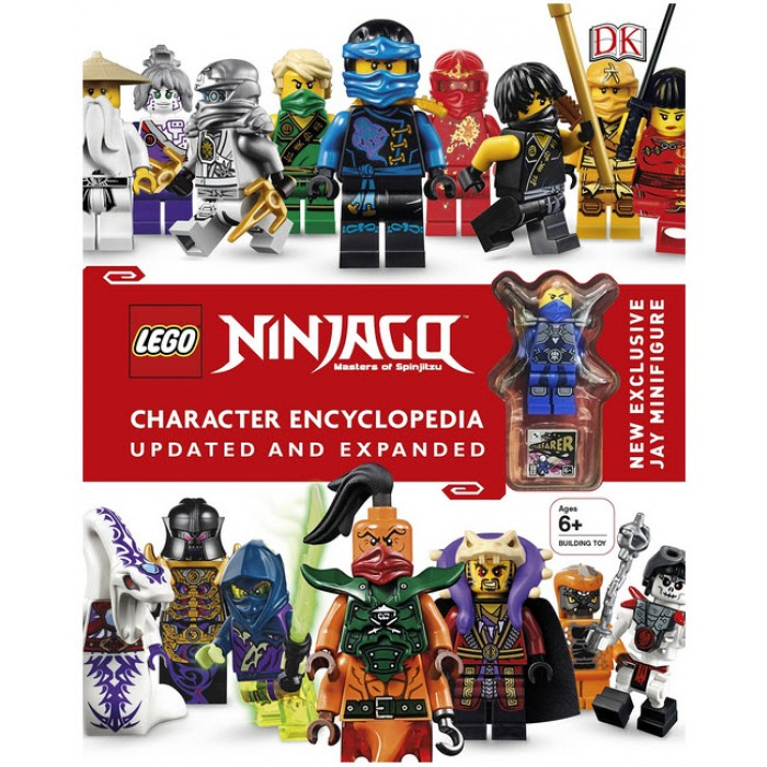 Book In English Lego Ninjago Character Encyclopedia Updated And