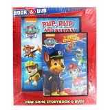 Nickelodeon PAW Patrol Pup, Pup and Away Book & DVD