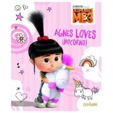 Agnes Loves Unicorns - Despicable Me 3 Picture Book