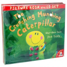 The Crunching Munching Caterpillar Picture 10 Book and CD Set